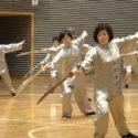 4.太極刀 力強い刀の動きを、ご覧下さい。
